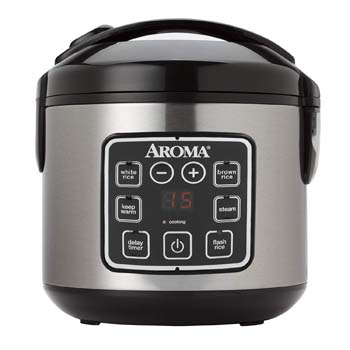 1: Aroma Housewares ARC-914SBD 2-8-Cups (Cooked) Digital Cool-Touch Rice Grain Cooker