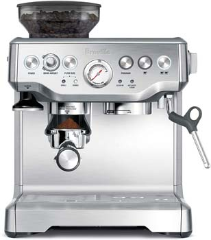 1: Breville the Barista Express Espresso Machine, BES870XL