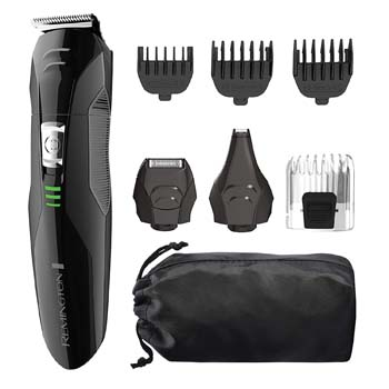 5: Remington PG6025 All-in-1 Lithium Powered Grooming Kit, Beard Trimmer (8 Pieces)
