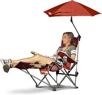7: Sport-Brella 3-Position Recliner Chair with Removable Umbrella and Footrest