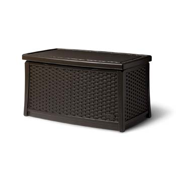 7: Suncast Elements Coffee Table with Storage
