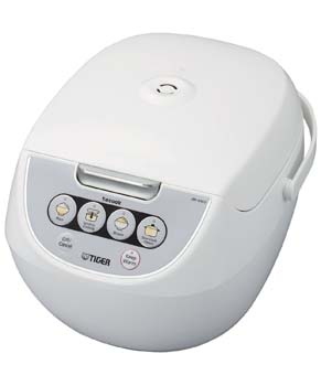 6: Tiger Corporation JBV-A10U-W 5.5-Cup Micom Rice Cooker