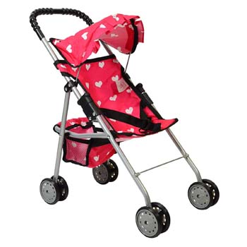 4. The New York Doll Collection My First Doll Stroller