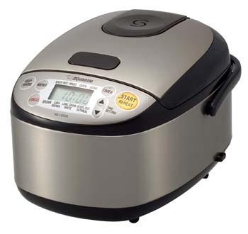 9: Zojirushi NS-LGC05XB Micom Rice Cooker & Warmer