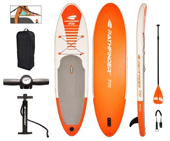 8. Pathfinder Inflatable SUP Stand Up Paddle Board