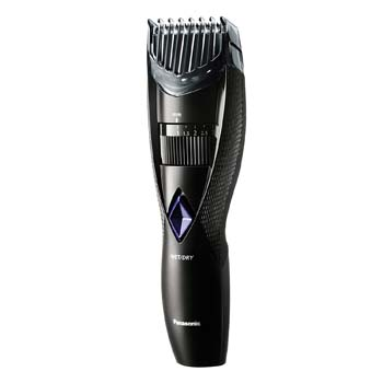 1: Panasonic Wet and Dry Cordless Electric Beard and Hair Trimmer for Men, Black, 6.6 Ounce