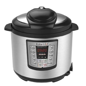 2: Instant Pot LUX60V3 V3 6 Qt 6-in-1 Multi-Use Programmable Pressure Cooker