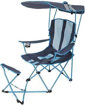 6: SwimWays Kelsyus Original Canopy Chair with Ottoman