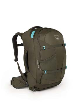 7: Osprey Packs Fairview 40 Women's Travel Backpack