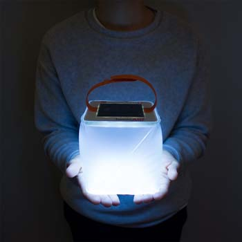 4: LuminAID Solar Inflatable Lanterns