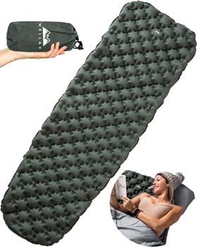 7: WELLAX Ultralight Air Sleeping Pad