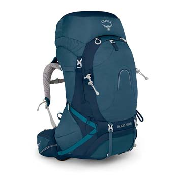8: Osprey Packs Aura AG 65 Women's Backpacking Backpack