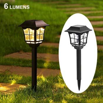 8: Maggift 6 Lumens Solar Pathway Lights Solar Garden Lights