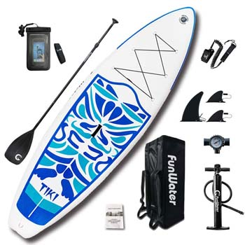 2. FunWater Inflatable 10'6×33