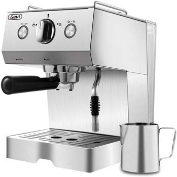 7: Barsetto Espresso Machine Coffee Machine 15 Bar Stainless Steel Coffee Brewer