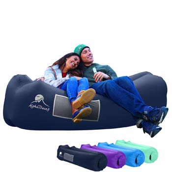 8: AlphaBeing Inflatable Lounger