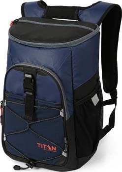 9. Arctic Zone Titan Deep Freeze 24 Can Backpack Cooler
