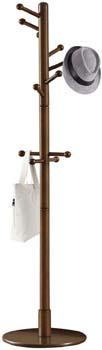 3: Vlush Sturdy Wooden Coat Rack Stand, Entryway Hall Tree Coat Tree