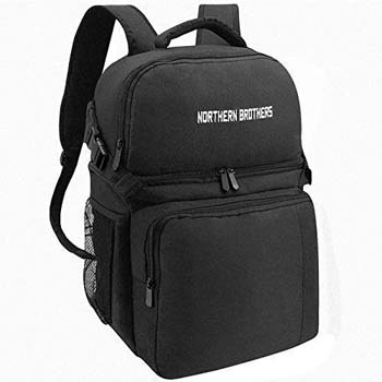8. NORTHERN BROTHERS Backpack Cooler