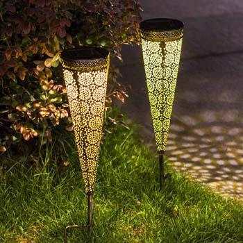 9: TAKE ME Solar Pathway Lights Garden Outdoor