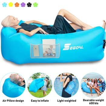 4: SEGOAL Inflatable Lounger Air Sofa