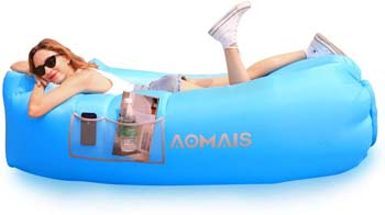 3: AOMAIS Inflatable Lounger Air Sofa