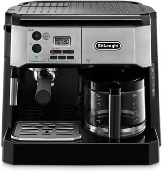 9: De'Longhi BCO430BM Combination Pump Espresso and 10c Drip Coffee Machine