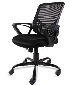 5: SMUGDESK Office Chair, Mid Back Mesh Office Computer Swivel Desk Task Chair