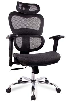 1: SMUGDESK Office Chair, Ergonomics Mesh Chair Computer Chair