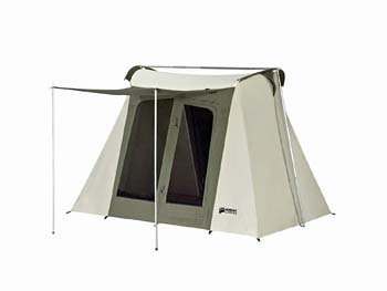 3: Kodiak Canvas Flex-Bow 4-Person Canvas Tent, Deluxe