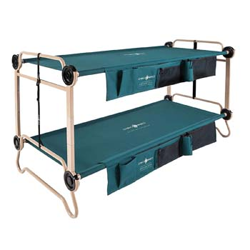 1: Disc-O-Bed X-Large with Organizers and Leg Extension