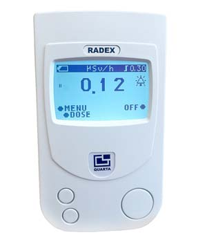 5: RADEX RD1503+ Safety PRO with Dosimeter