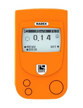 1: RADEX RD1503+ with Dosimeter (Outdoor Version)