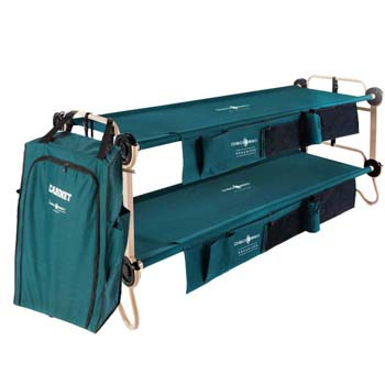 7: Disc-O-Bed X-Large Cam-O-Bunk Cot + 3-Shelf Cabinet