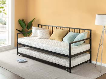 6: Zinus Eden Twin Daybed and Trundle Set