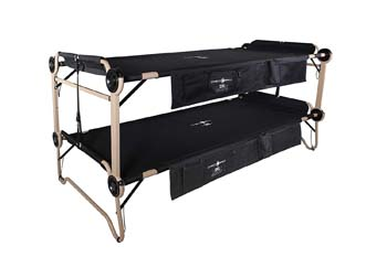 4: Disc-O-Bed 2XL with Organizers, Black