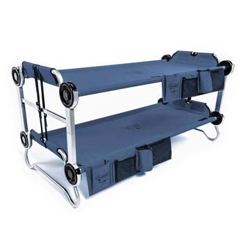 2: Disc-O-Bed Youth Kid-O-Bunk with Organizers