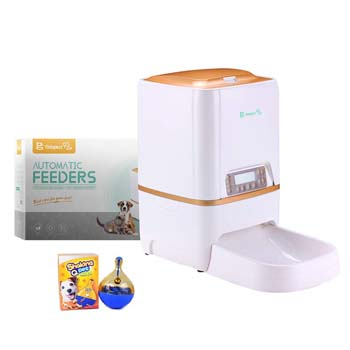 10: BELOPEZZ 6Liters Smart Pet Automatic Feeders for Dog and Cat Food Dispenser