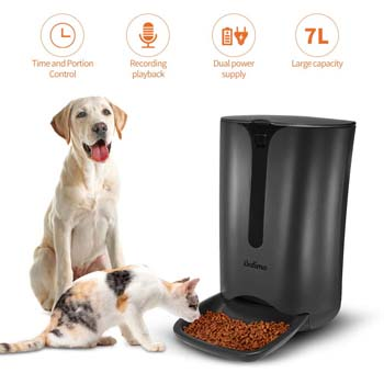 8: Balimo Automatic Smart Pet Feeder for Cat and Dog, Food Dispenser