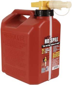 3. No-Spill 1405 2-1/2-Gallon Poly Gas Can