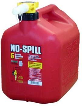 2. No-Spill 1450 5-Gallon Poly Gas Can (CARB Compliant)