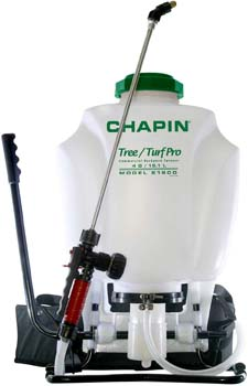 1. Chapin 61900 4-Gallon Tree and Turf Pro Commercial Backpack Sprayer with Stainless Steel Wand