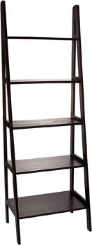 5. Casual Home 5-Shelf Ladder Bookcase
