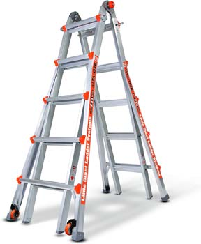 9. Little Giant 14016-001 Alta One Type 1 Model 22-foot Ladder