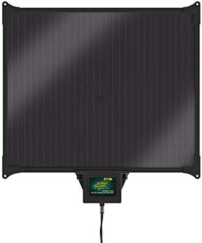 2. Battery Tender 12V, 270mA, 5W Solar Battery Charger