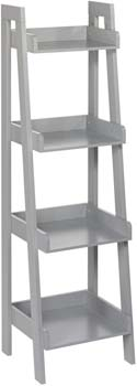 4. RiverRidge 4-Tier Ladder Shelf for Kids