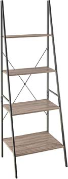 10. ClosetMaid 1316 4-Tier Wood Ladder Shelf Bookcase