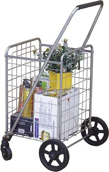 5. Wellmax WM99024S Grocery Utility Shopping Cart