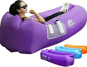 2. WEKAPO Inflatable Lounger Air Sofa Hammock