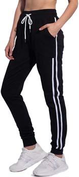 8. PULI Women's Running Yoga Jogger Drawstring Sweatpants High Waist Sweat Pants with Pockets